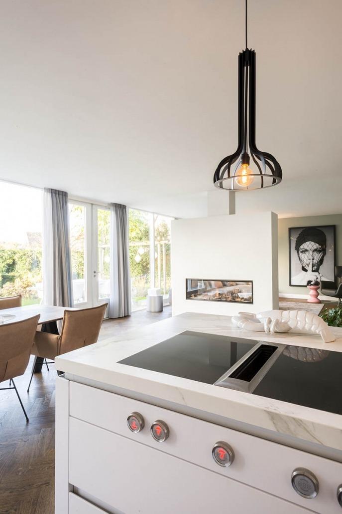 Witte keuken van Koopman Personal Design te Enschede
